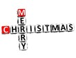 3D Merry Christmas Crossword