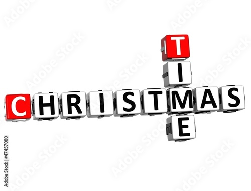 3D Time Christmas Crossword