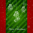 Christmas Greeting Card.  items icons. new year element