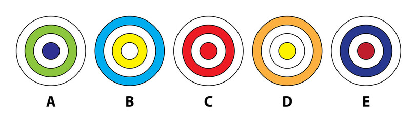 CIRCLES MIND GAME ... Which  does not fit in? Answer: D