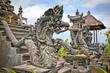 Dragon monster secure the entrance of Pura Padmasana Puja Mandal