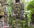 Traditional balinese dragon monster secure the of temple, Bali