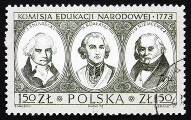 Postage stamp Poland 1973 Bicentenary of National Education Comm