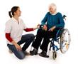 Oma im Rollstuhl 241112