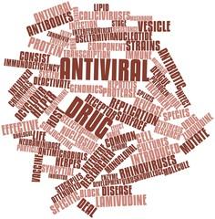 Word cloud for Antiviral drug