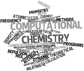 Word cloud for Computational chemistry