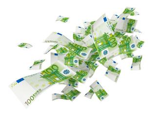 Geldregen 100er 100 Euro