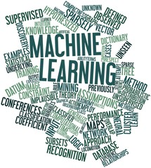 Word cloud for Machine learning