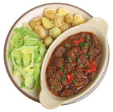 Beef Stew with Vegetables Dinner