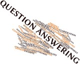 Word cloud for Question answering