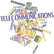 Word cloud for Telecommunications in Kuwait