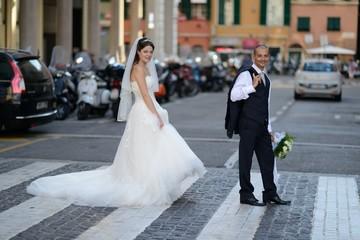 Sposi sulle strisce
