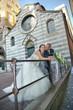 Sposi nei vicoli di Genova