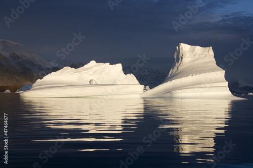 Papiers peints Pôle Icebergs - Scoresbysund - Greenland
