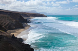 west coast of Fuerteventura at La Pared