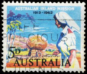 AUSTRALIA - CIRCA 1962 Nurse