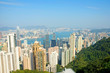 China, Hong Kong cityscape from the Peak