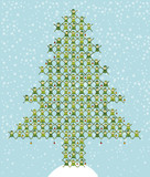 Many Elf Doing Christmas Tree - XL