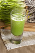 Green Organic Wheat Grass Shot