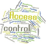 Word cloud for Access control