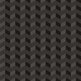 Aztec Chevron dark vector seamless pattern zigzag background poster