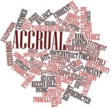 Word cloud for Accrual