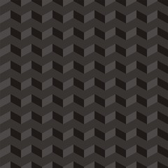 Aztec Chevron dark vector seamless pattern zigzag background