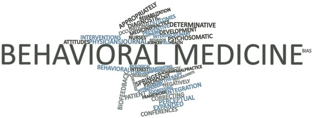 Word cloud for Behavioral medicine