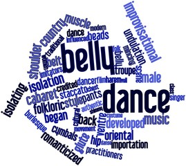 Word cloud for Belly dance