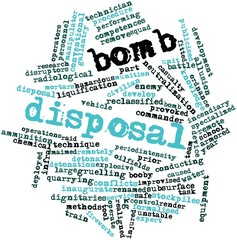 Word cloud for Bomb disposal