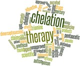 Word cloud for Chelation therapy