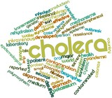 Word cloud for Cholera