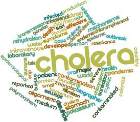 Word cloud for Cholera