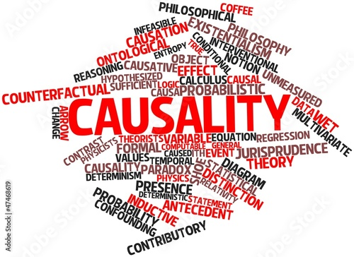 Word cloud for Causality