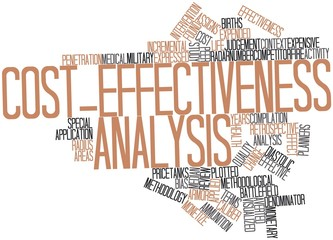 Word cloud for Cost-effectiveness analysis