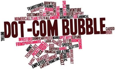 Word cloud for Dot-com bubble