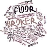 Word cloud for Floor broker poster
