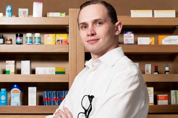 Alternative Medizin, Medikamentenregal.