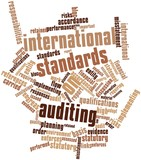Word cloud for International Standards on Auditing