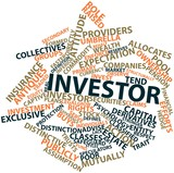 Word cloud for Investor poster