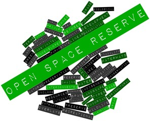 Word cloud for Open space reserve