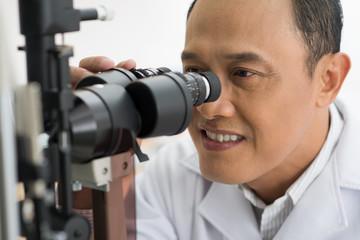Making eyesight test