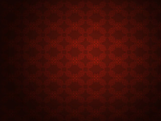 Red pattern background