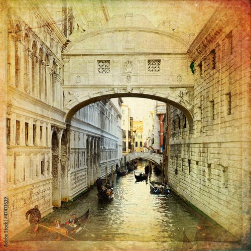 Obraz na Szkle Bridge of Sighs - Venice