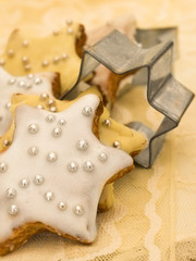 gingerbread with holiday decoration