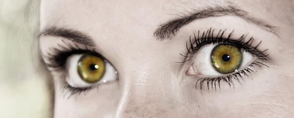 Yellow Eye - Beautiful, Feminine