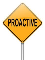 Proactive concept.