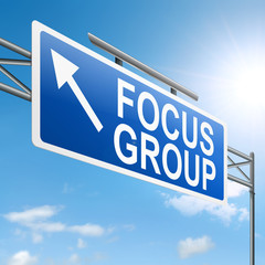 Focus group concept.