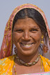 Portrait of an Indian woman, Pushkar, Rajasthan, India