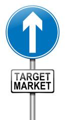 Target market.